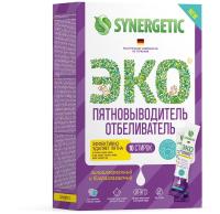 Пятновыводитель Synergetic С активным кислородом. 10 стирок (250г) -