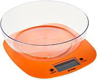 Кухонные весы Delta KCE-32 (оранжевый) -