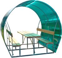 Беседка Агросфера Пион 2м с покрытием (зеленый) -