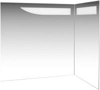 Зеркало De Aqua Трио Люкс R / 184504 (белый) -