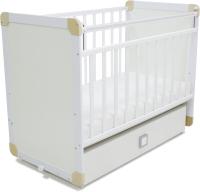 Детская кроватка СКВ 4 / 458001 (белый) -