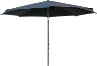 Зонт садовый Home4you Balcony D2.7м (темно-серый) -