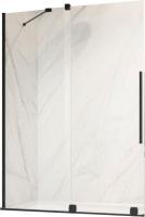 Стеклянная шторка для ванны Radaway Furo Black PND II 120 L / 10109638-54-01L + 10112594-01-01 -