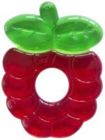 Прорезыватель для зубов Будь здоров Малина (красный/зеленый) -