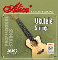Струны для укулеле Alice AU02 -