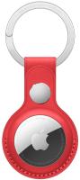 Чехол для беспроводной метки-трекера Apple AirTag Leather Key Ring (PRODUCT)RED / MK103 -