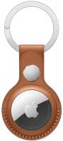 Чехол для беспроводной метки-трекера Apple AirTag Leather Key Ring Saddle Brown / MX4M2 -