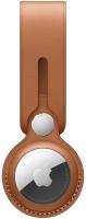 Чехол для беспроводной метки-трекера Apple AirTag Leather Loop Saddle Brown / MX4A2 -