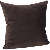 Подушка декоративная Эскар Pudra 40x40 / 122933637 (темно-коричневый) -