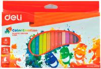 Восковые мелки Deli Color Emotion / С20020 (24цв) -