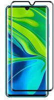 Защитное стекло для телефона Case Full Glue для Redmi Note 10 Pro (черный глянец) -