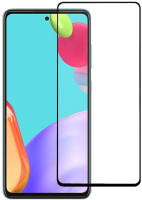 Защитное стекло для телефона Case Full Glue для Galaxy A52 (черный глянец) -