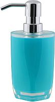 Дозатор жидкого мыла Axentia Грац 128552 (бирюзовый) -