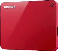 Внешний жесткий диск Toshiba Canvio Advance 1TB (HDTC910ER3AA) (красный) -