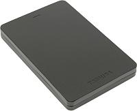 Внешний жесткий диск Toshiba Canvio Alu 2TB (HDTH320EK3AB) (черный) -