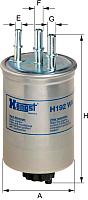 Топливный фильтр Hengst H192WK -