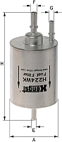 Топливный фильтр Hengst H224WK -