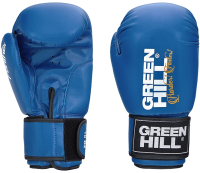 Боксерские перчатки Green Hill Panther BGP-2098 12 oz (синий) -