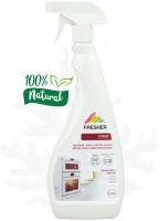 Чистящее средство для кухни Fresher Удаление масел, жиров для духовки, микроволновки (0.75л) -