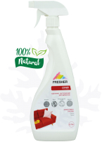 Чистящее средство для ковров и текстиля Fresher Удаление грязи и жира для диванов (0.75л) -