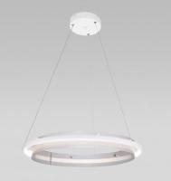 Потолочный светильник Евросвет 90241/1 (белый/серебристый) -