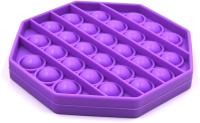 Антистресс Pop It Восьмиугольник (фиолетовый) -