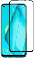 Защитное стекло для телефона Case Full Glue для Huawei P40 Lite/Nova 6SE (глянец черный) -