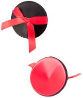 Набор пэстисов Erolanta Lingerie Collection (черно-красные) -