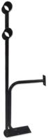 Кронштейн для хореографического станка Dinamika Напольно-пристенный двухрядный ZSO-002237 (черный) -