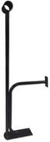Кронштейн для хореографического станка Dinamika Напольно-пристенный однорядный ZSO-002235 (черный) -