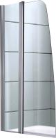 Стеклянная шторка для ванны Avanta DS 50/50 (прозрачное стекло) -