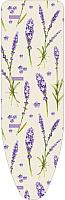 Чехол для гладильной доски Ника ЧП1 (цветы на розовом фоне) -