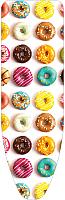 Чехол для гладильной доски Ника ЧП3 (пончики) -