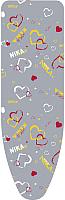 Чехол для гладильной доски Ника ЧПА3 (сердце) -