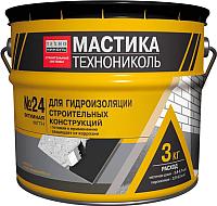 Гидроизоляционная мастика Технониколь МГТН №24 (3кг) -