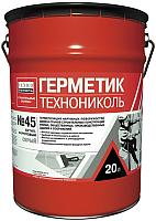Герметик силиконовый Технониколь №45 (16кг, серый) -