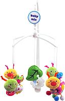 Мобиль на кроватку Baby Mix 443M (улитки и гусеницы) -