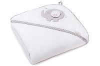 Полотенце с капюшоном Perina Слоник ПД-03.95 (белый) -