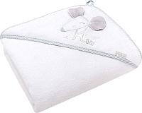 Полотенце с капюшоном Perina Мышка ПД-01.90 (белый) -