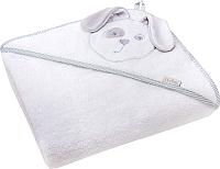 Полотенце с капюшоном Perina Зайка ПД-04.90 (белый) -