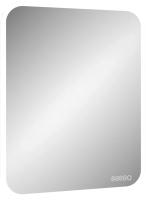 Зеркало Континент Glamour Led 60x80 (с часами и подогревом) -