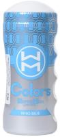Мастурбатор для пениса MensMax Colors Ring Blue / MM-39 -