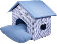 Домик для животных Gamma Садовый / 31912053 (голубой) -