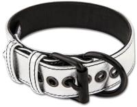 Ошейник LoveToy Bondage Fetish Black Matt Collar With Leash / LV761004 (серебристый) -