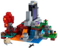 Конструктор Lego Minecraft Разрушенный портал 21172 -