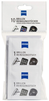 Комплект салфеток для очистки очковых линз Zeiss Универсальные чистящие (10шт) -