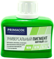 Колеровочный пигмент Primacol 22 (80мл, мятный) -