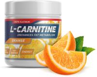 Жиросжигатель Geneticlab Carnitine Powder (150г, апельсин) -