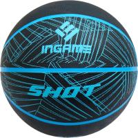 Баскетбольный мяч Ingame Shot №7 (черный/синий) -
