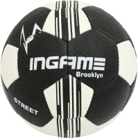 Футбольный мяч Ingame Street Brooklin 2020 (размер 5, черный/белый) -
